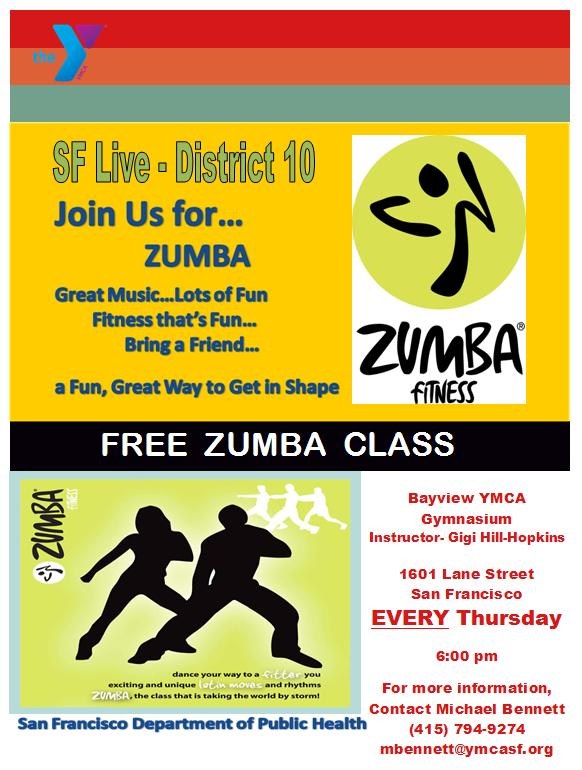 Free zumba classes every thursday night bayview ymca bma blog free zumba classes every thursday night bayview ymca stopboris Image collections